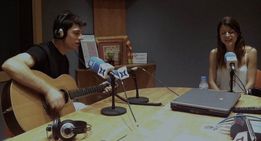 tocalilafibra - Entrevista Els Tres Sentits La Xarxa Ràdio
